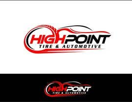 arteq04 tarafından High Point Tire and Automotive Logo için no 49