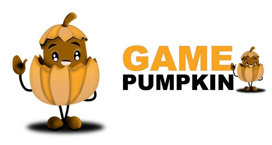 Конкурсная заявка №155 для Logo Design for GamePumpkin