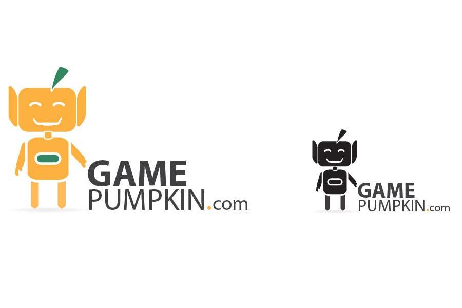 Penyertaan Peraduan #123 untuk Logo Design for GamePumpkin