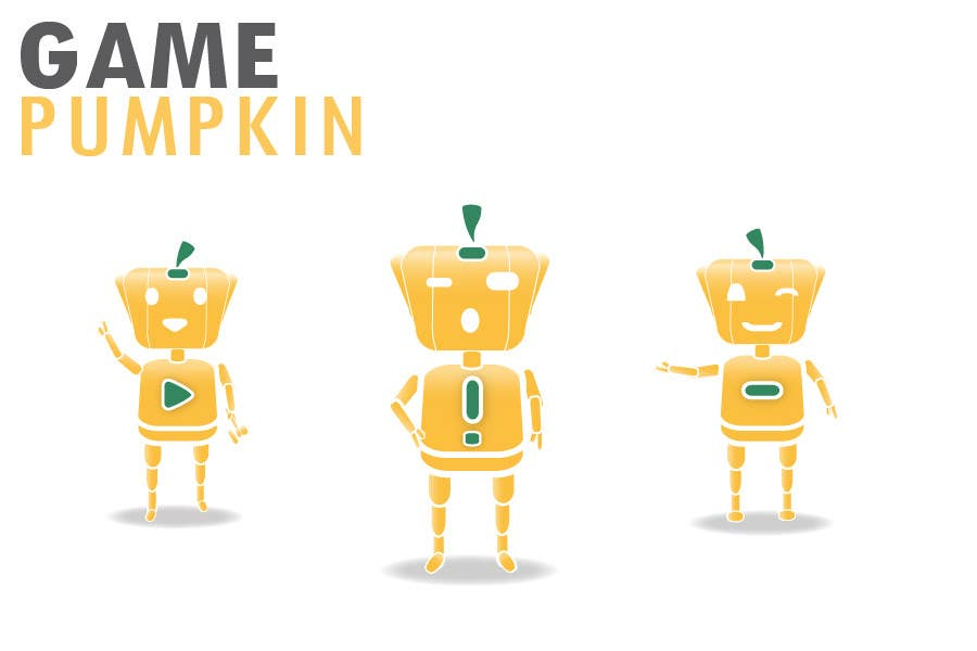 Penyertaan Peraduan #134 untuk Logo Design for GamePumpkin