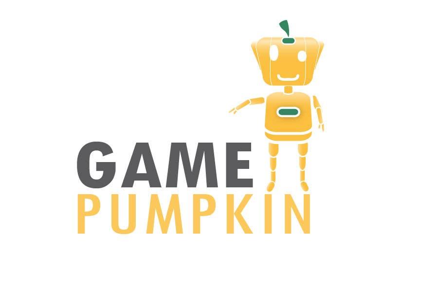 Penyertaan Peraduan #132 untuk Logo Design for GamePumpkin