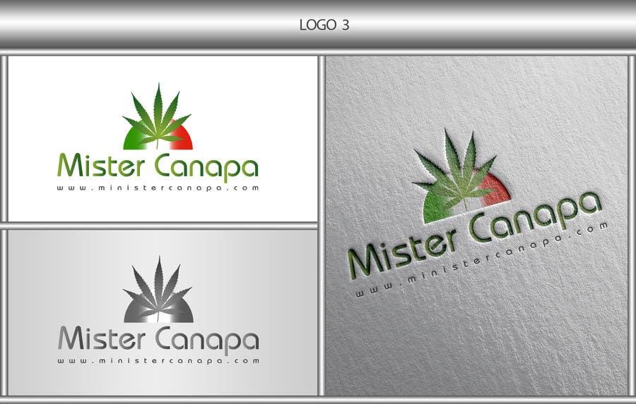 Inscrição nº 25 do Concurso para Disegnare un Logo for Mister Canapa
