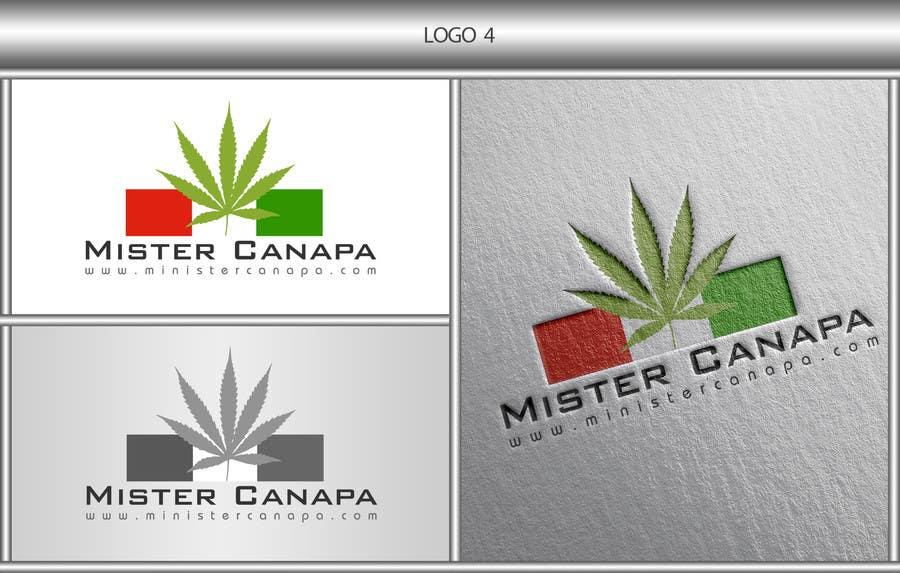 Inscrição nº 26 do Concurso para Disegnare un Logo for Mister Canapa