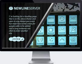 Nro 9 kilpailuun Landing page for website with banner placements and then area to enter site(url forward) käyttäjältä bezil