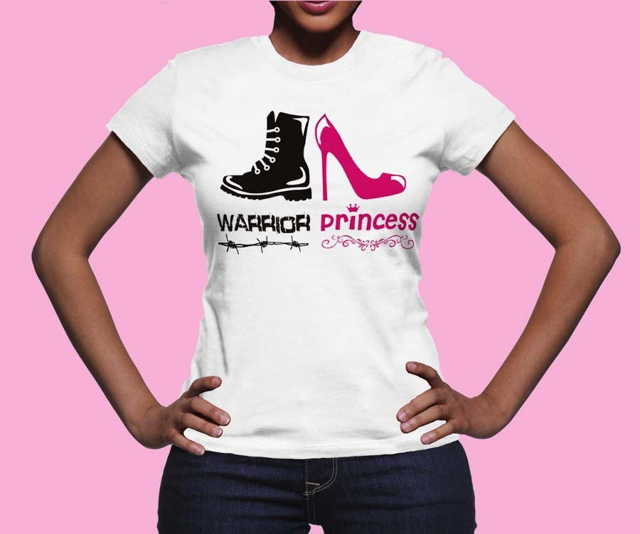 Inscrição nº 16 do Concurso para Design a T-Shirt for Warrior Princess