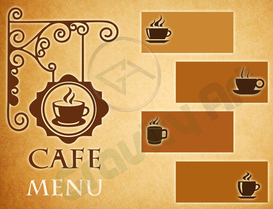 Bài tham dự cuộc thi #4 cho Help me with designing a simple but effective cafe menu -- 2