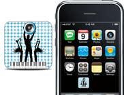 Bài tham dự #34 về Graphic Design cho cuộc thi Design Iphone App Icon for a Music Festival Playlist app