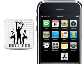 #35 untuk Design Iphone App Icon for a Music Festival Playlist app oleh venug381