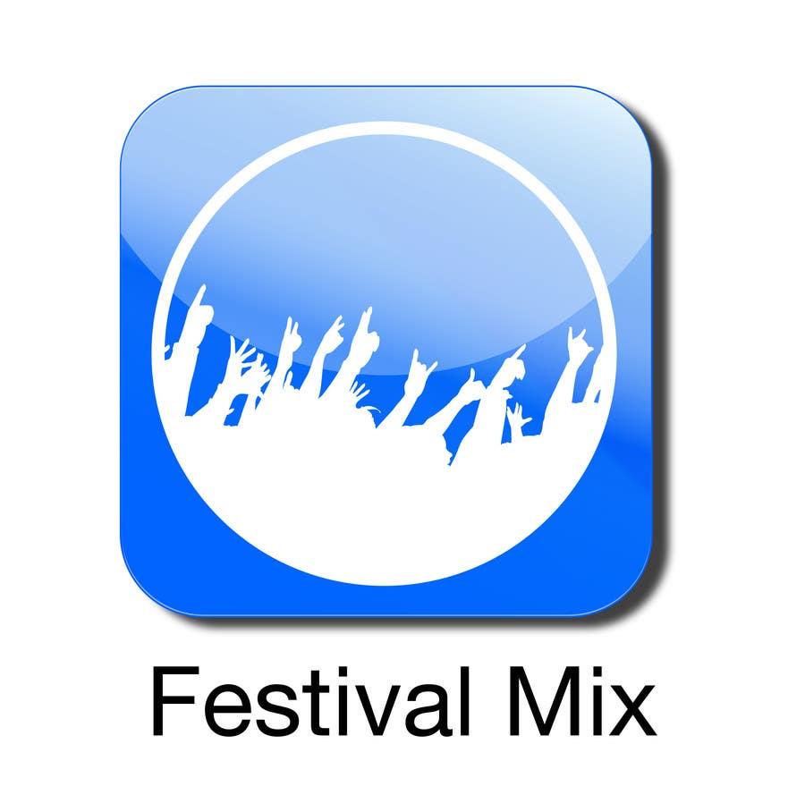Bài tham dự cuộc thi #                                        20                                      cho                                         Design Iphone App Icon for a Music Festival Playlist app