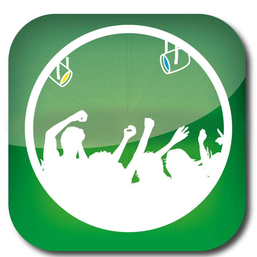 Bài tham dự cuộc thi #                                        24                                      cho                                         Design Iphone App Icon for a Music Festival Playlist app