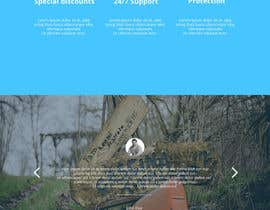 #2 untuk Design a Website Mockup for a Wordpress site oleh alssiha