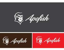 Nro 2 kilpailuun Apefish logo käyttäjältä orangethief