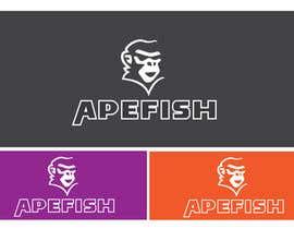 Nro 4 kilpailuun Apefish logo käyttäjältä orangethief