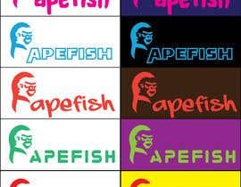 Nro 5 kilpailuun Apefish logo käyttäjältä orangethief