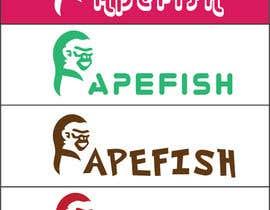 Nro 7 kilpailuun Apefish logo käyttäjältä orangethief