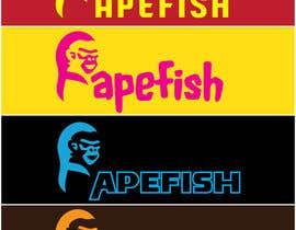 Nro 8 kilpailuun Apefish logo käyttäjältä orangethief
