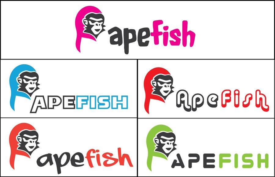 Bài tham dự cuộc thi #10 cho Apefish logo