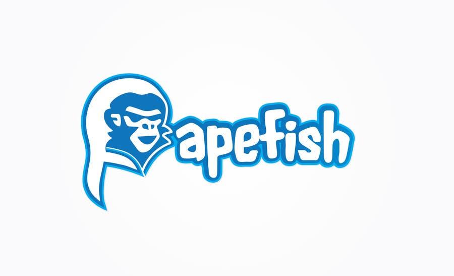 Kilpailutyö #12 kilpailussa Apefish logo