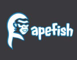 Nro 18 kilpailuun Apefish logo käyttäjältä orangethief