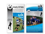 Graphic Design Contest Entry #14 for Graphic Design for uk saints brochure