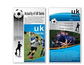 #14 untuk Graphic Design for uk saints brochure oleh RMbrand