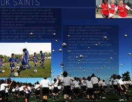 #28 untuk Graphic Design for uk saints brochure oleh XpertDesigner007