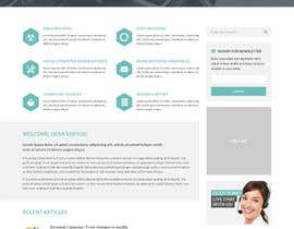 #23 cho Design a Website Mockup for Computer Repair Website bởi negibheji