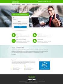 #17 untuk Design a Website Mockup for Computer Repair Website oleh kreativeminds