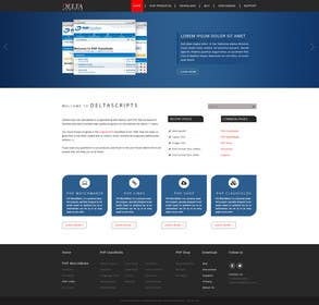 logodesire tarafından Improve design + bootstrap in WordPress-site için no 3