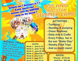 phylaretus tarafından Design a Flyer for Cheerleading summer camp için no 23