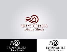 Nro 42 kilpailuun Design a Logo for Transportable Shade Sheds käyttäjältä joydeepmandal