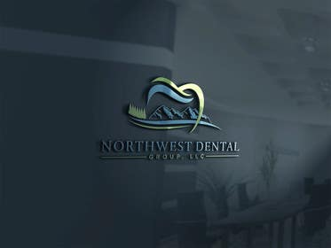 Nro 35 kilpailuun Design a Logo for Northwest Dental Group, LLC käyttäjältä mohammedkh5