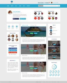 #10 for PSD to HTML using Boostrap or Material Design af eliascurtis
