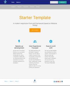 Nro 11 kilpailuun PSD to HTML using Boostrap or Material Design käyttäjältä okakzai