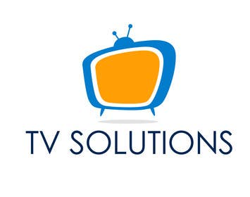 "#6 for Design a Logo for a company called ""TV Solutions"" af darkavdarka"