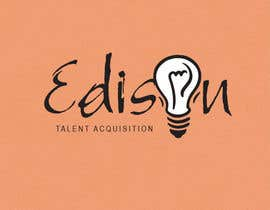#15 untuk Design a flat logo for Edison Talent Acquisition (Web Design Recruitment). Think inventions crossed with monopoly! oleh lilsdesign