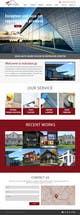 Kilpailutyön #10 pienoiskuva kilpailussa Design a Website Mockup for small building company
