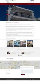 #4 untuk Design a Website Mockup for small building company oleh ankisethiya