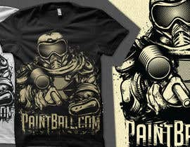 #59 for Design a T-Shirt for PaintBall.com af crayonscrayola