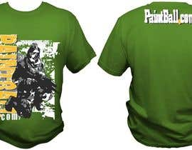 #78 for Design a T-Shirt for PaintBall.com by bacujkov
