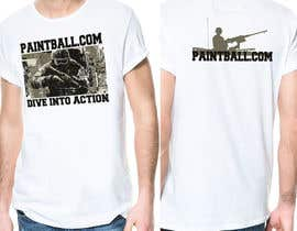 #68 para Design a T-Shirt for PaintBall.com por passionstyle