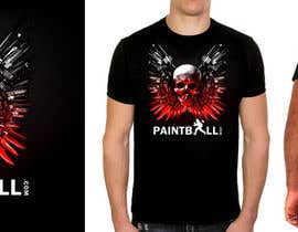 #84 para Design a T-Shirt for PaintBall.com por GraphXFeature