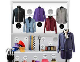 #33 dla Design The Coolest Clothing Shop Landing Page in the World! przez amandachien