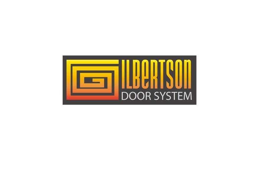 Kilpailutyö #46 kilpailussa Design a Logo for Gilbertson Door Systems