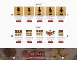 #28 for Design a Website Mockup for retail food company by nikil02an