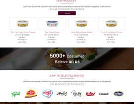 #34 for Design a Website Mockup for retail food company by ravinderss2014