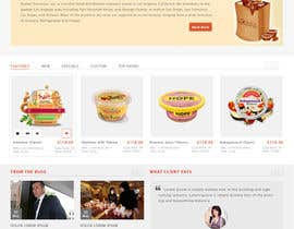 muhammadshoban tarafından Design a Website Mockup for retail food company için no 37