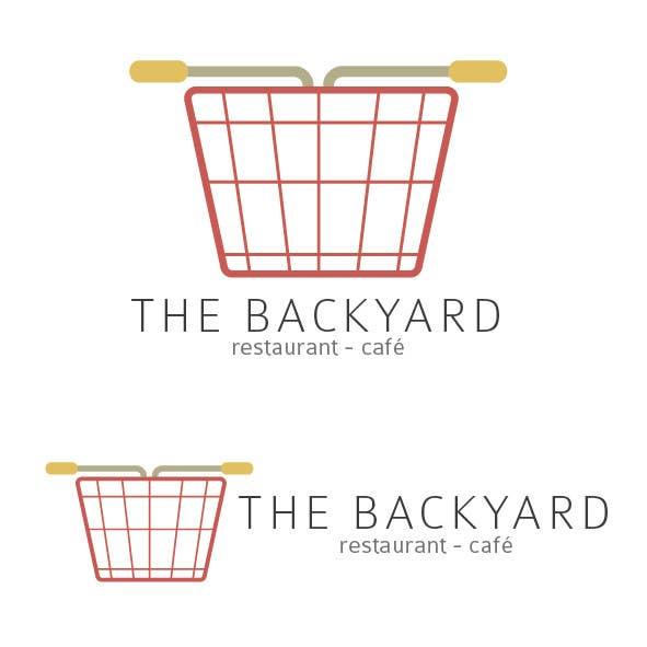 "Bài tham dự cuộc thi #36 cho Diseñar un logotipo para Restaurant Café ""The Backyard"""