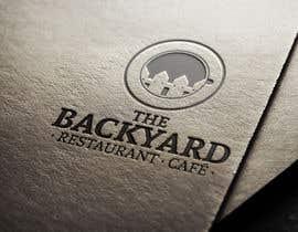 "#4 untuk Diseñar un logotipo para Restaurant Café ""The Backyard"" oleh AlfacruzDG"