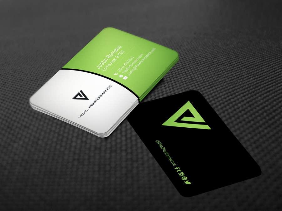 Kilpailutyö #26 kilpailussa Design some Business Cards for Vital Performance